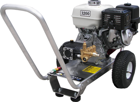 """E3032HAI""  3GPM @ 3200PSI (Gas - Cold Water) Direct Drive AR Pump / Int UL Pressure Washer"