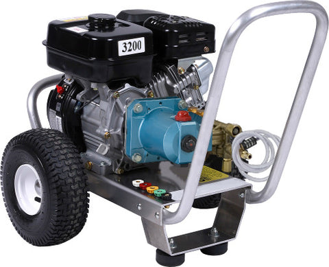 """E3032RC"" 3GPM @ 3200PSI (Gas - Cold Water) Direct Drive Cat Pump Pressure Washer"