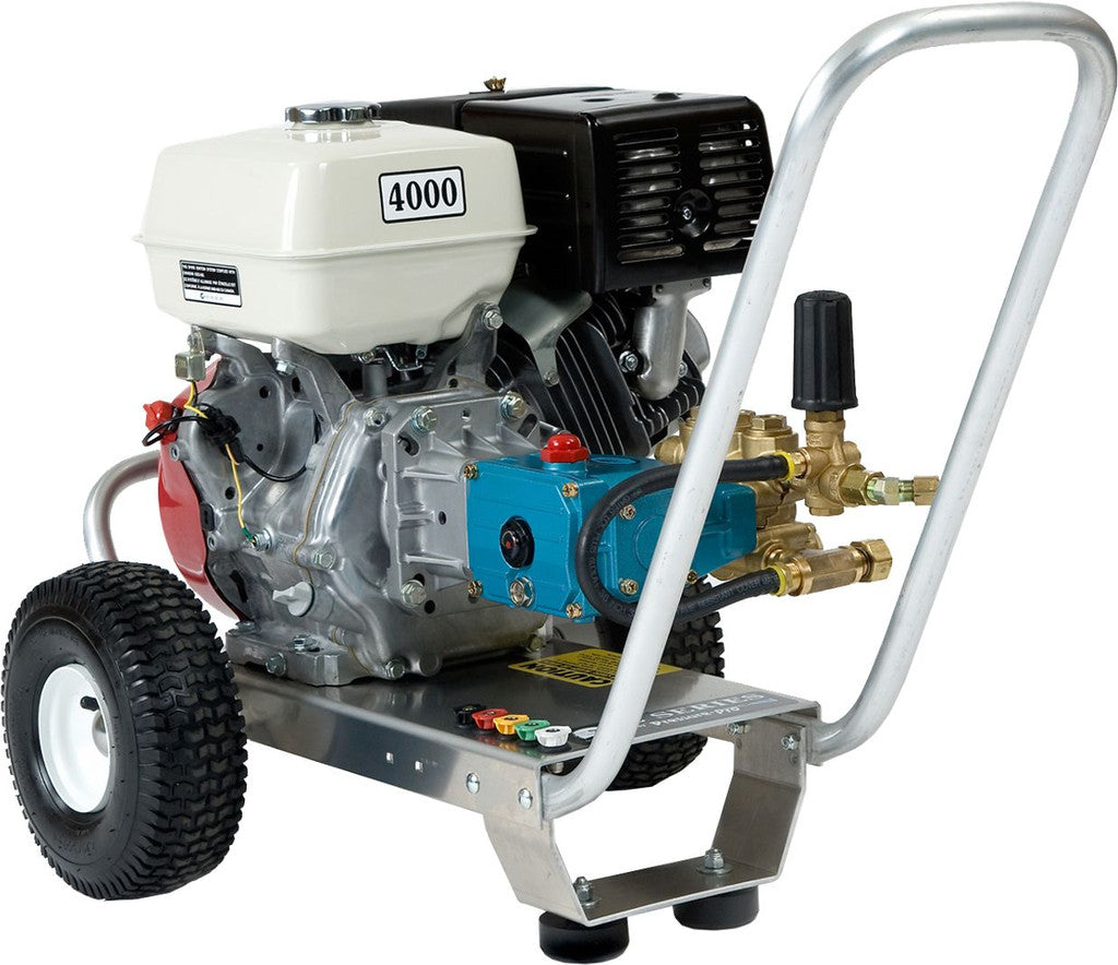 E4040HC 4GPM 4000PSI Gas Cold Water Direct Drive Cat Pump