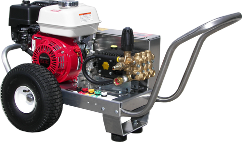 """EB3025HG"" 3GPM @ 2500PSI (Gas - Cold Water) V-Belt Drive General Pump Pressure Washer"