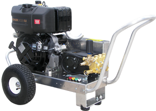 """EB4032KLDGE"" 4.0GPM @ 3200PSI (Diesel - Cold Water) V-Belt Drive General Pump Pressure Washer w/Electric start"