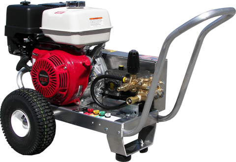 """EB4040HA"" 4GPM @ 4000PSI (Gas - Cold Water) V-Belt Drive AR Pump Pressure Washer"