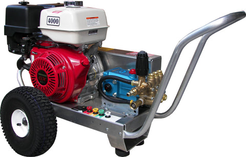 PB-4240CH 4200PSI Belt Drive Cat Pump Honda GX390 Panther Pressure Washer
