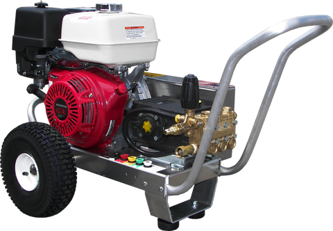"""EB4040HG"" 4GPM @ 4000PSI (Gas - Cold Water) V-Belt Drive General Pump Pressure Washer"