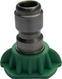 925030Q 3 GPM HIGH PRESSURE SPRAY NOZZLE GREEN 25°