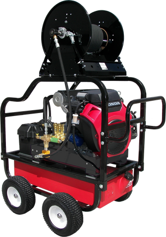 """HDC4070HG"" Heavy-Duty 4GPM @ 7000PSI (Gas - Cold Water) Polychain Drive General Pump Pressure Washer"