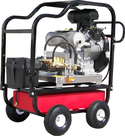 """HDC6070KA"" Heavy-Duty   6GPM @ 7000PSI (Gas - Cold Water) Polychain Drive AR Pump Pressure Washer"