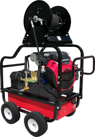 """HDCV8030HG"" Heavy-Duty 8GPM @ 3000PSI (Gas - Cold Water) V-Belt Drive General Pump Pressure Washer"