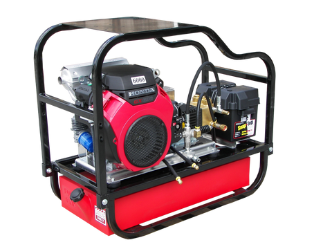 """HDCV4560HG"" Heavy-Duty 4.5GPM @ 6000PSI (Gas - Cold Water) V-Belt Drive General Pump Pressure Washer"