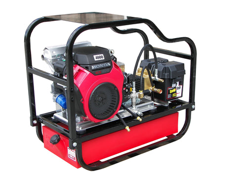 """HDCV5540HG"" Heavy-Duty 5.5GPM @ 4000PSI (Gas - Cold Water) V-Belt Drive General Pump Pressure Washer"