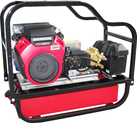 """HDCV5550HG"" Heavy-Duty 5.5GPM @ 5000PSI (Gas - Cold Water) V-Belt Drive General Pump Pressure Washer"