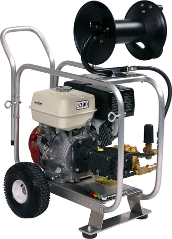 """J/D3032HG"" Pro-Jet 3GPM @ 3200PSI (Gas - Cold Water) Direct Drive General Pump Drain Cleaner"