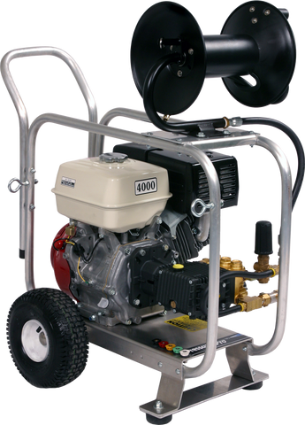 "J/D4040HG Pro 4000 PSI PRO ""Sewer Jetter Package"