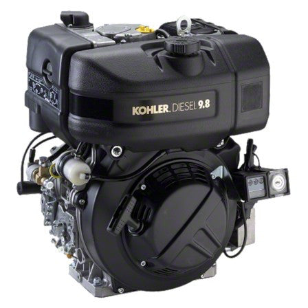 """KD420"" Kohler diesel-powered Air-Cooled 442CC  9.8HP 20 Amp Electric/Recoil Engine (part #KD420-2001)"
