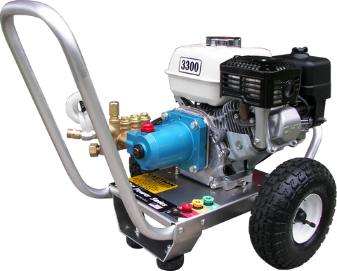 """PPS2533HCI-50""  3300PSI @ 2.5GPM Pressure Washer Honda Cat Pump with 50' Hose"