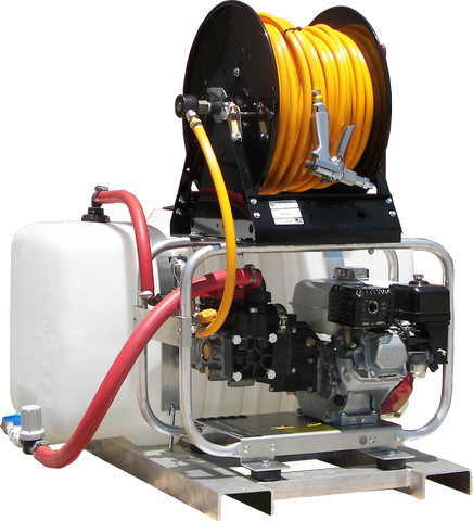 """RCS/E3027HG-TF"" Pro-ATV 3GPM @ 2700PSI (Gas - Cold Water) Direct Drive General Pump Power Unit"