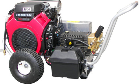 """VB4560HGEA600"" 4.5GPM @ 6000PSI (Gas - Cold Water) V-Belt Drive General Pump Pressure Washer"