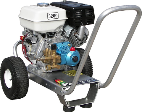 """E3032HC"" 3GPM @ 3200PSI (Gas - Cold Water) Direct Drive Cat Pump Pressure Washer"