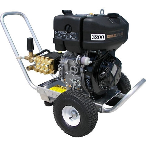 """E4032LDGE"" 4GPM @ 3200PSI (Diesel - Cold Water) Direct Drive General Pump Pressure Washer w/Electric Start"