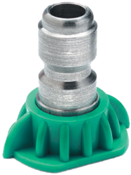 25-degree high pressure spray nozzle, size 4.0 (part #02-207)