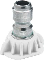 40-degree high pressure spray nozzle, size 3.5 (part #02-209)