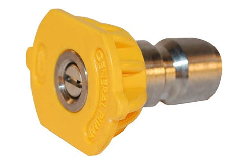 915040Q 4.0 GPM HIGH PRESSURE SPRAY NOZZLE YELLOW 15°