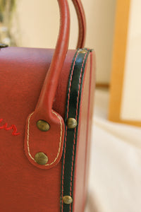Côte d'Azur Leather Bag