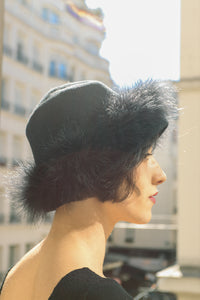1920 Feather Hat