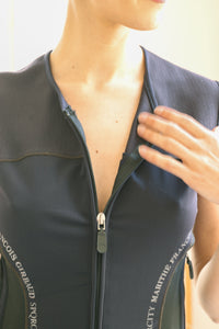 Marithé François Girbaud Zip Top