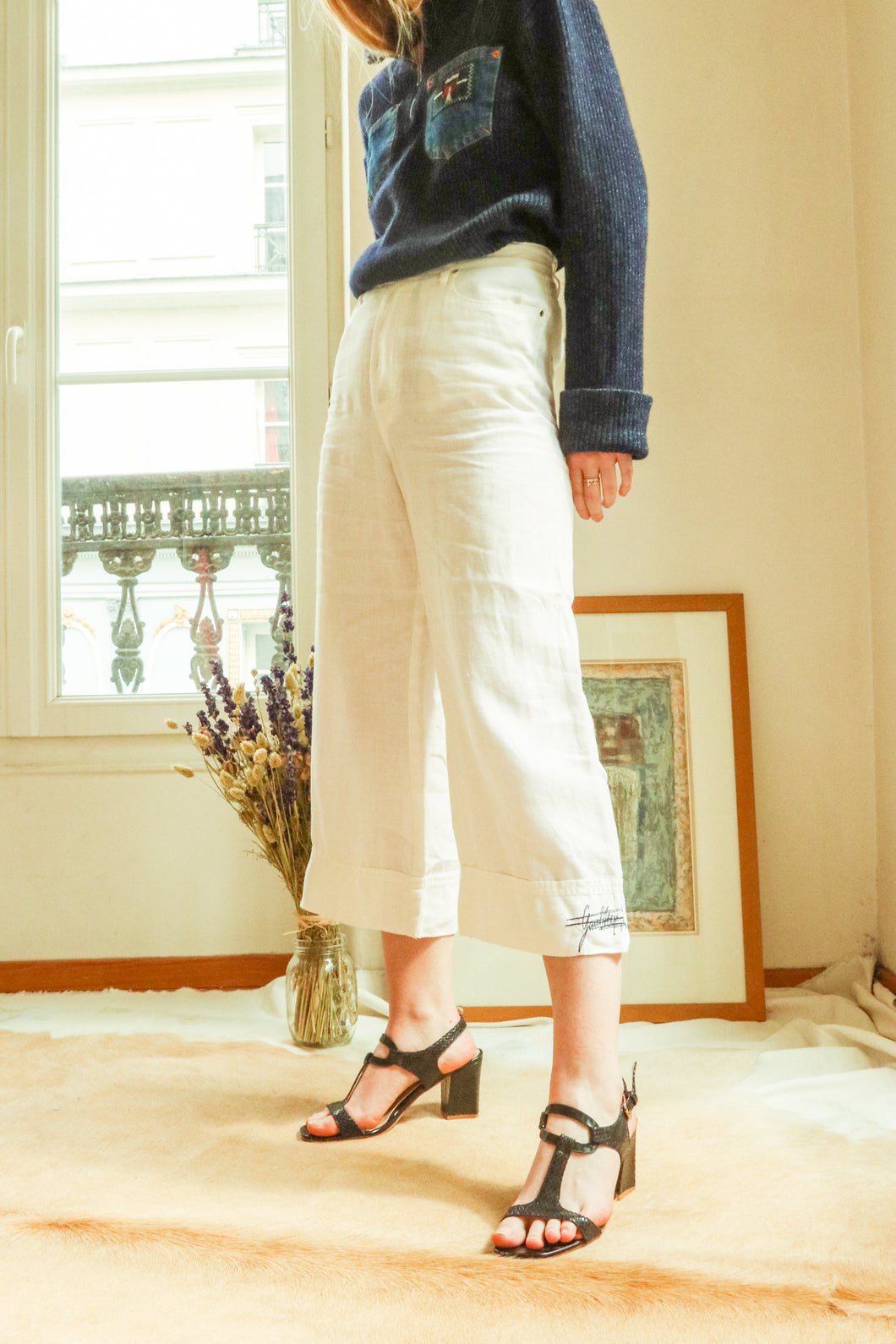 Jean Paul Gaultier Linen Trousers