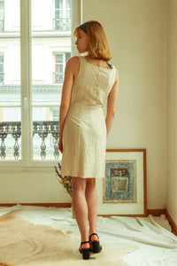 Cacharel Silk and Linen Dress