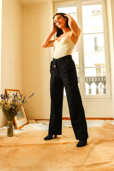 Gianfranco Ferre Wool Trousers
