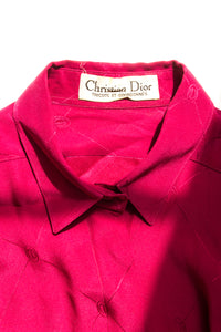 Christian Dior Monogram Silk Shirt