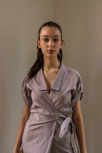 Gianfranco Ferre Gingham Dress