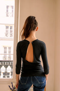 Backless Versace