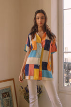 Load image into Gallery viewer, Pastel Mondrian Shirt