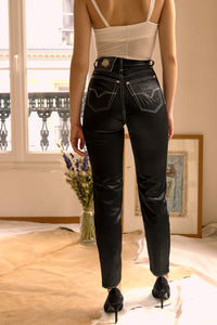 Versace Satin Jeans Couture