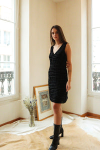 Cacharel Velvet Dress