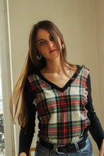 Load image into Gallery viewer, Jean Paul Gaultier Tartan Top