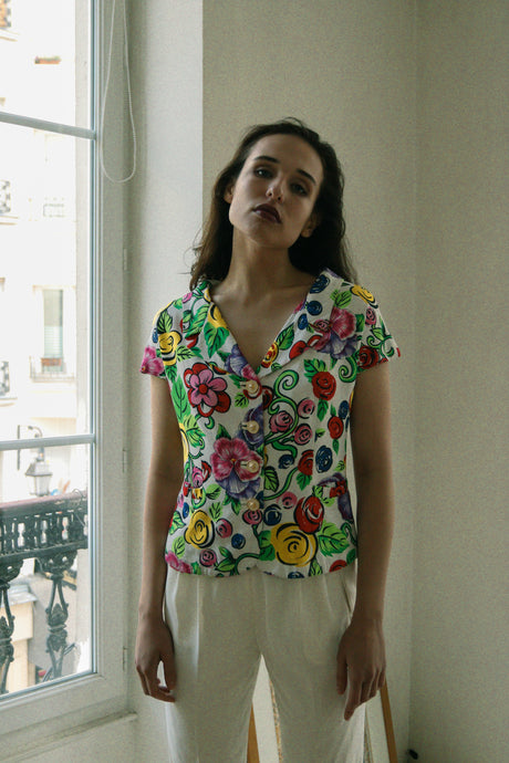 Gianni Versace Floral Shirt