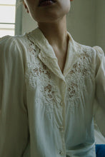 Load image into Gallery viewer, Ivory Silk Shirt
