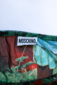 Moschino India Mesh Top