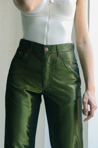 Jean Paul Gaultier Satin Trousers