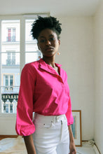 Load image into Gallery viewer, Fuschia Blouse