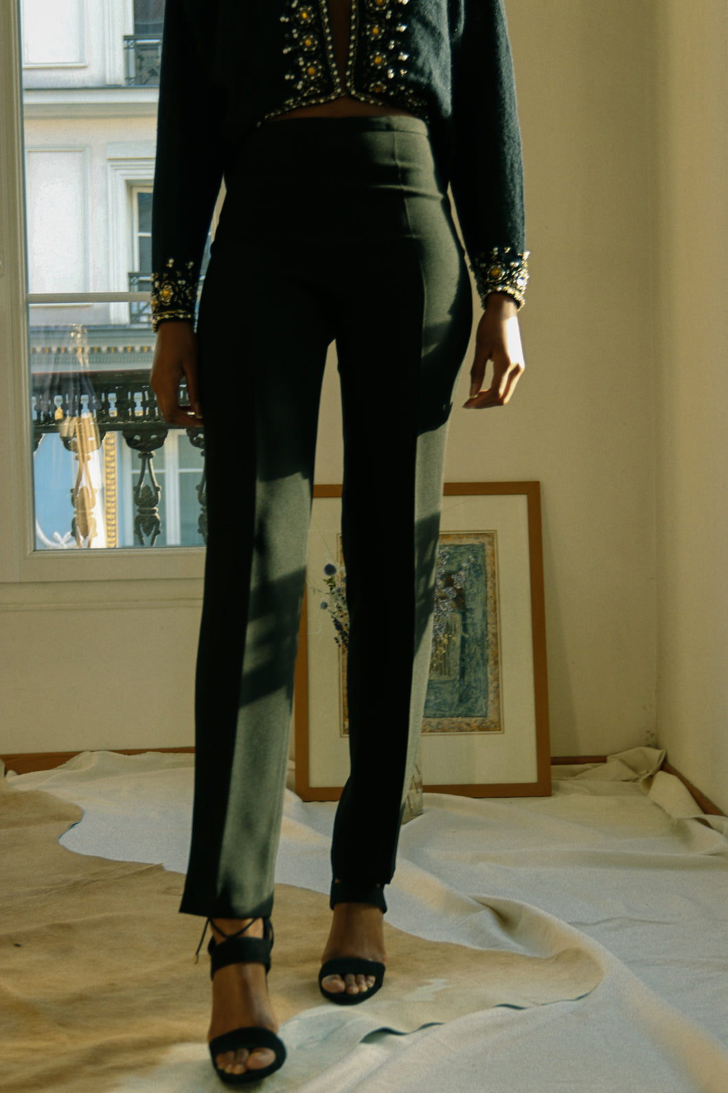 Jean Paul Gaultier Black Pant
