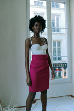 Load image into Gallery viewer, Claude Montana Fuschia Skirt