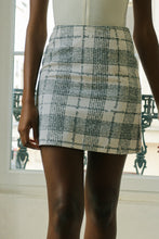 Load image into Gallery viewer, Moschino Tartan Letter Skirt