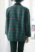 Load image into Gallery viewer, Tartan Blazer