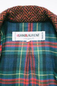 Yves Saint Laurent 1960's Long Coat