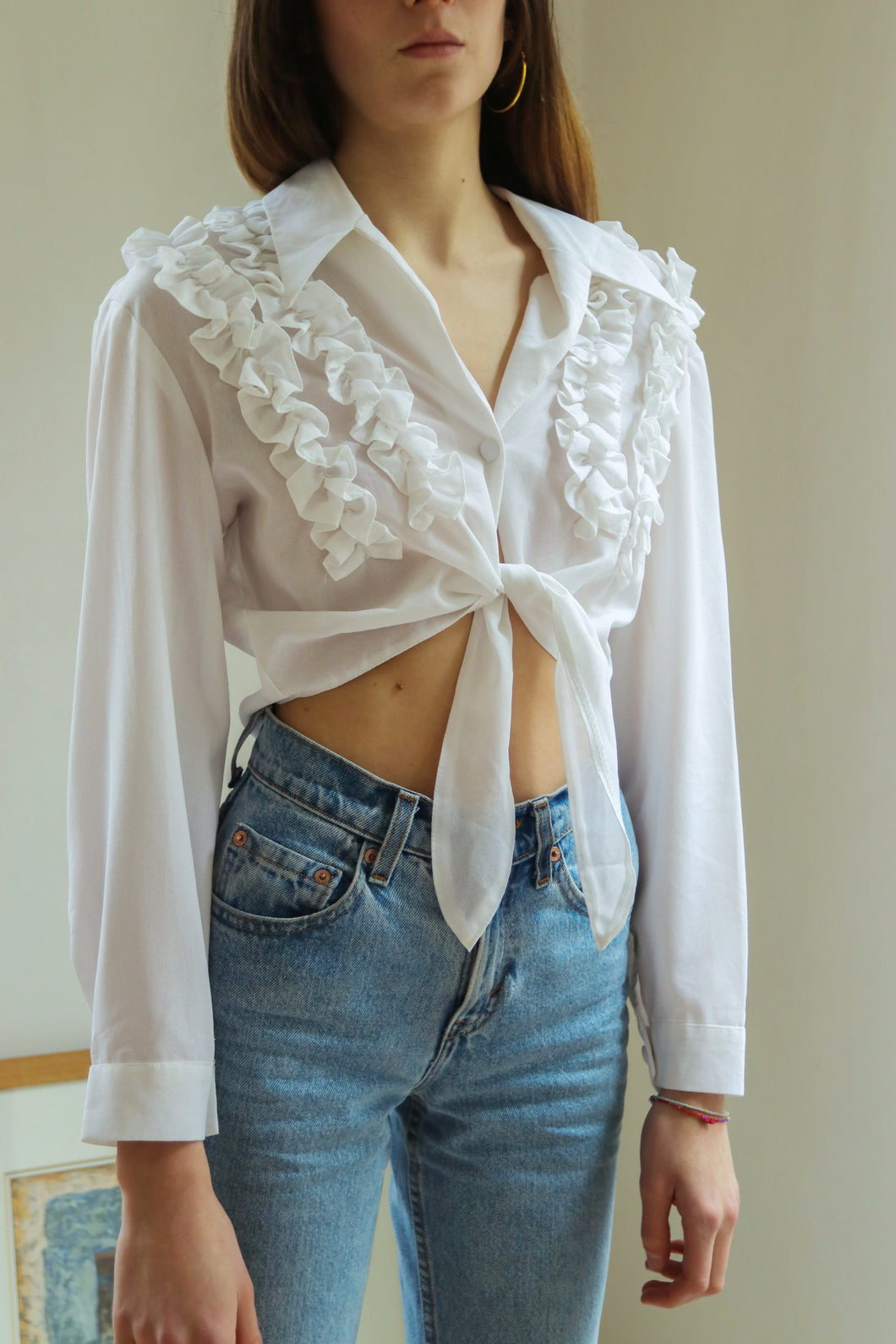 Chantal Rosner Ruffle Shirt